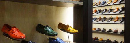 百貨店 紳士靴売場