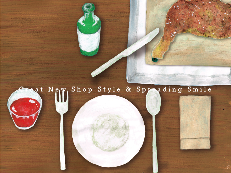 Creat New Shop Style & Spreading smile